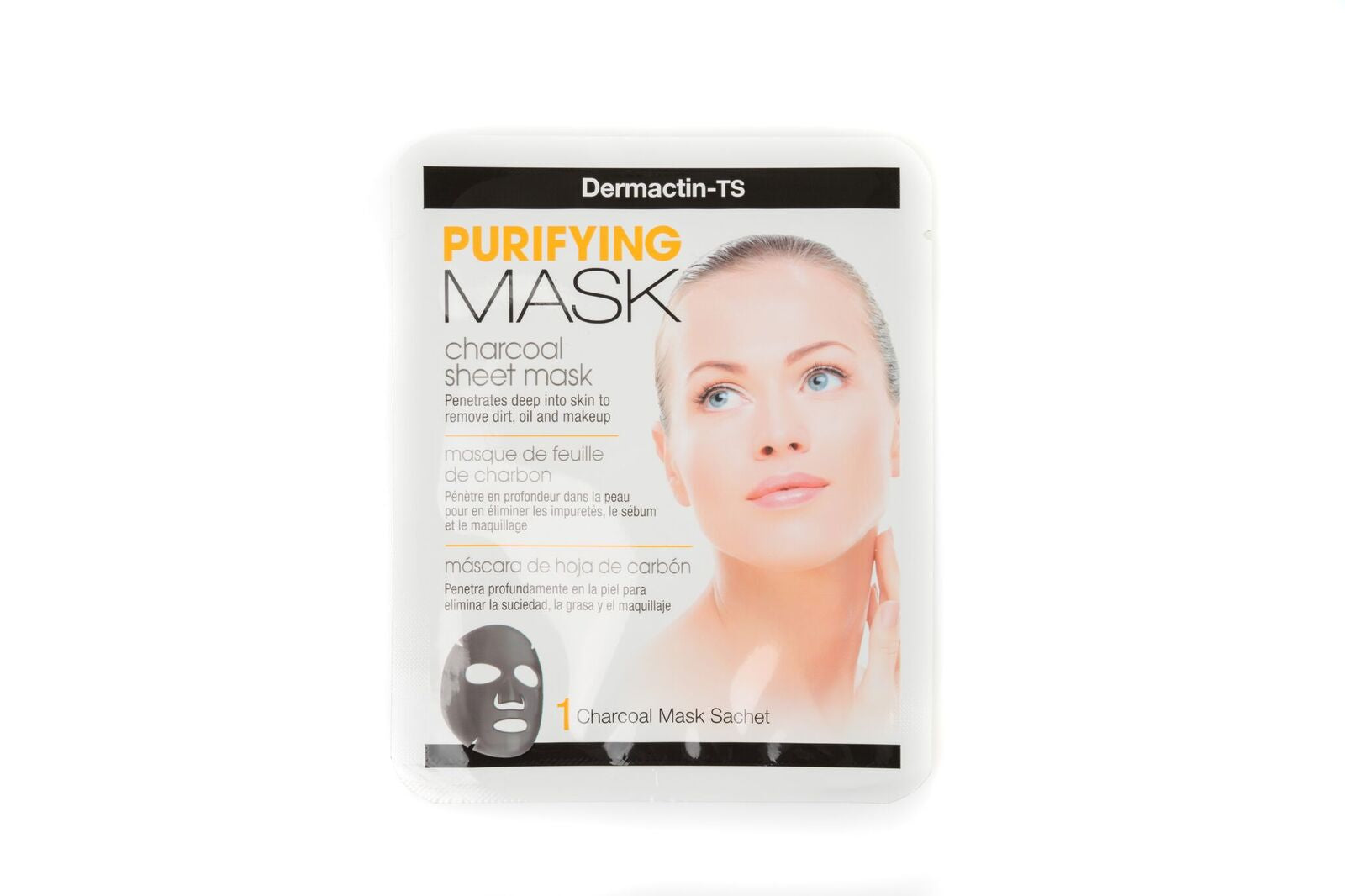 Pore Refining Charcoal Sheet Mask - Single