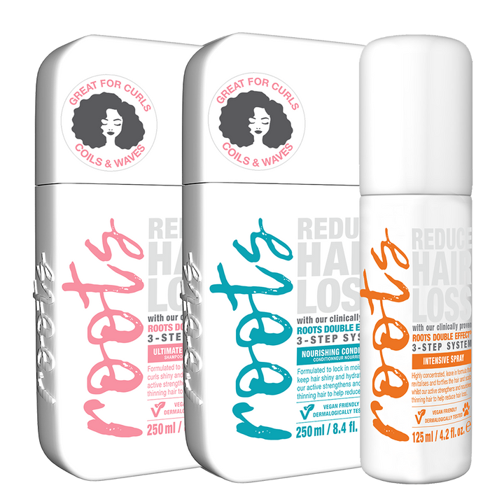 3 Step Hair Health | Curl Pack