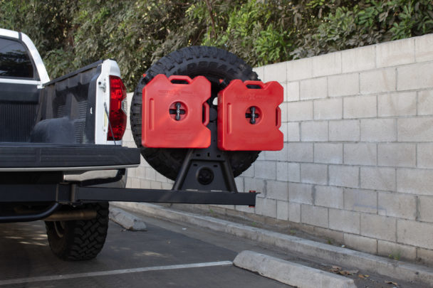 Wilco Offroad Hitchgate Dual Rotopax Mounting Kit