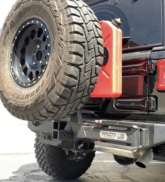 Wilco Offroad Hitchgate SoloXL Spare Tire Carrier