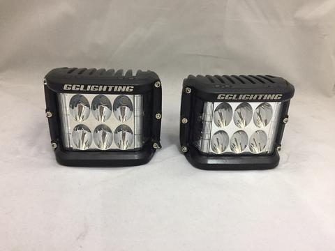 Directional 90º Sidewinder LED Pod (Left & Right Pair)