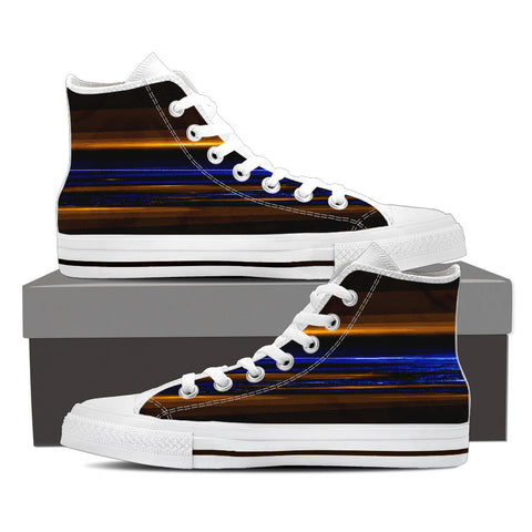 Anu 598 Mens High Top Shoes