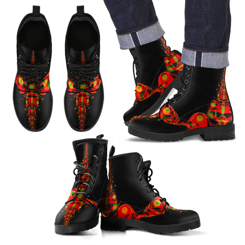 RAYRE MEN LEATHER BOOTS BY ANG-BOI COLLECTION®