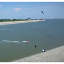 Charleston Kiteboarding Lessons at Force Kite and Wake