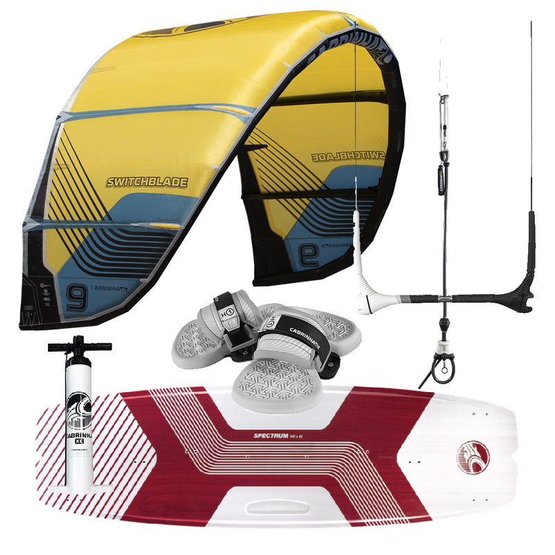 Cabrinha Kiteboarding Package | Force Kite & Wake