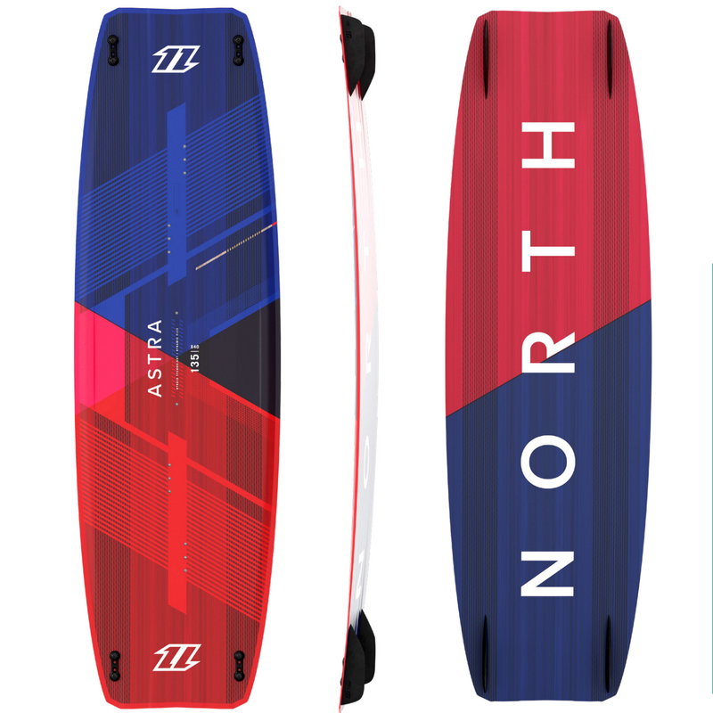2021 North Astra TT Board Blue/Coral - FREE SHIPPING