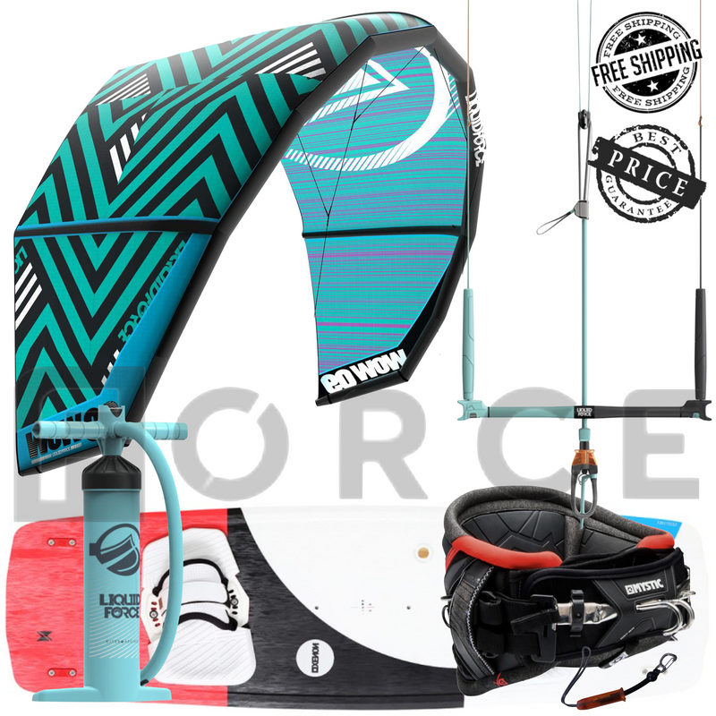 Complete Kiteboarding Package | Force Kite & Wake