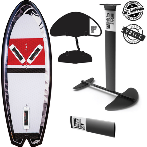 Kiteboarding Foil Package | Force Kite & Wake