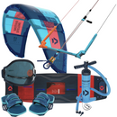 Duotone Rebel 12M and Select Kiteboarding Package | Force Kite & Wake