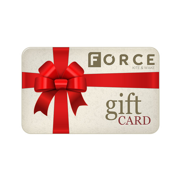 Gift Card | Force Kite & Wake