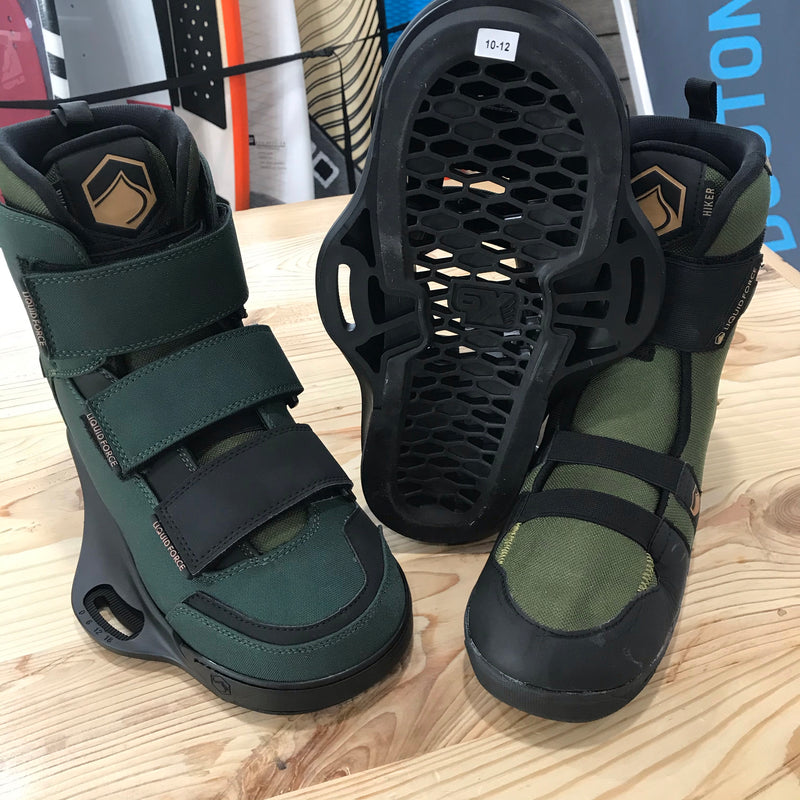 2020 Liquid Force HIKER Army Green Boots | Force Kite & Wake