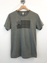NEB Flag Unisex Tee - Heather Grey