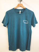 Gravel In Your Travel Unisex Tee - Heather Deep Teal