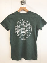 Gravel In Your Travel Youth Unisex Tee - Heather Forest
