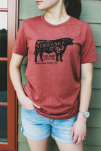 The Beef State Unisex Tee - Rust