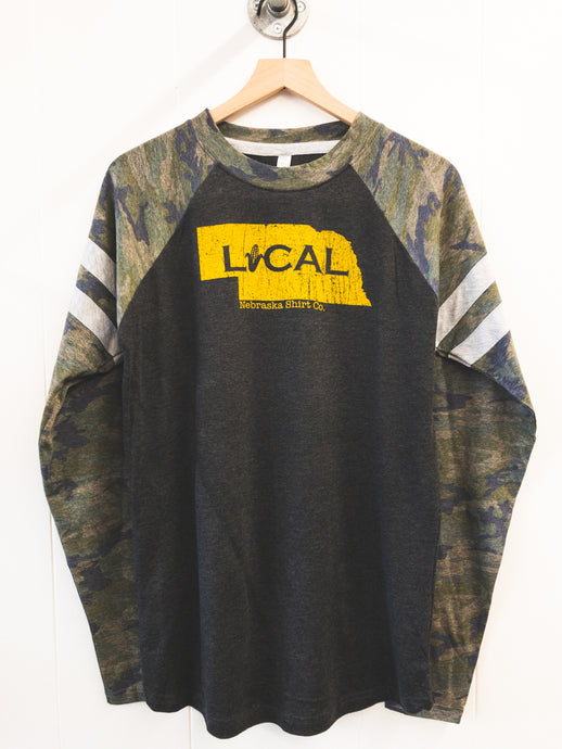 Local Camo Long Sleeve Unisex