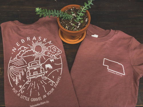 Youth Unisex Gravel in Your Travel Tee
