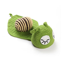 Knitted Turtle Baby Costume