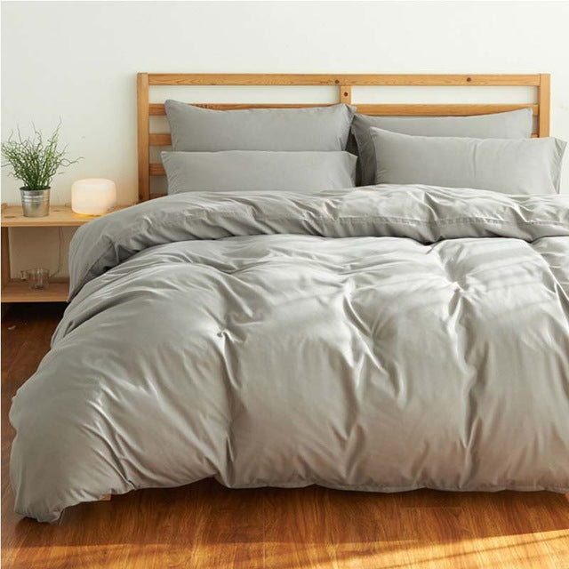 Cotton Bed Linen Duvet Set