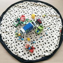 100% Cotton 140x140cm 2in1 Play Rug & Toy Storage Bag