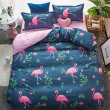 Cotton Bed Linen Duvet Cover Set