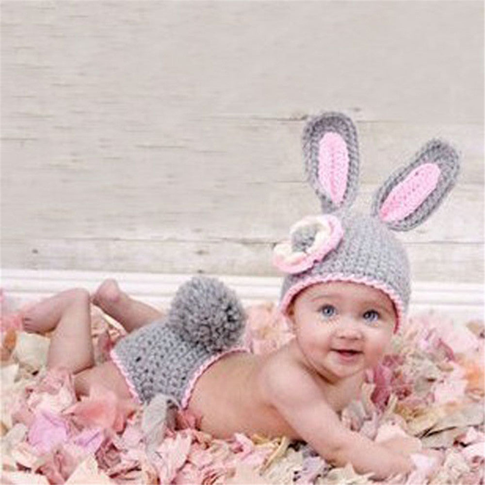 Baby Rabbit Crochet Costume