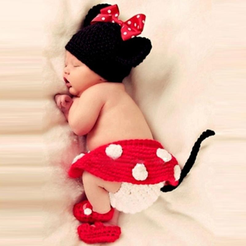 Minnie Newborn Outfit