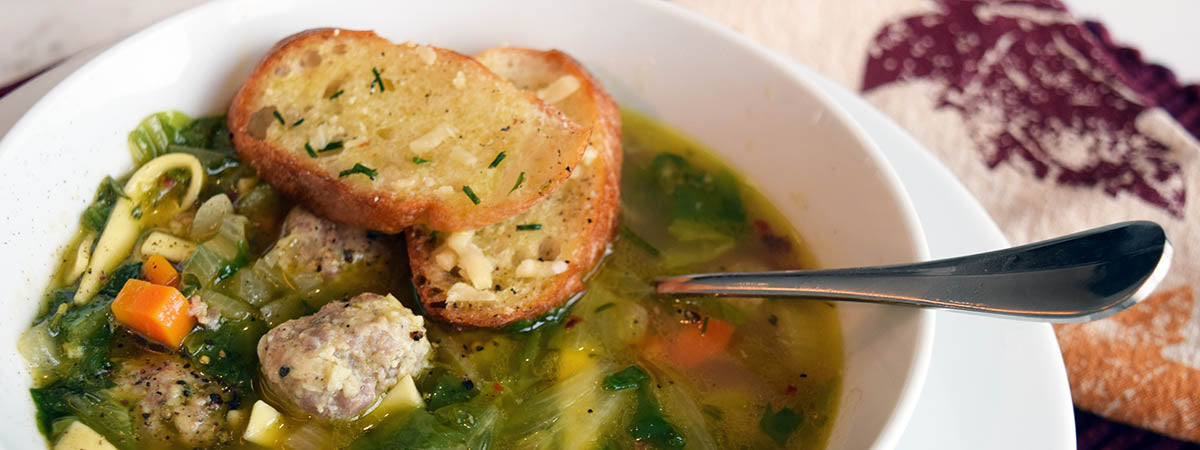 Turkey Escarole Soup