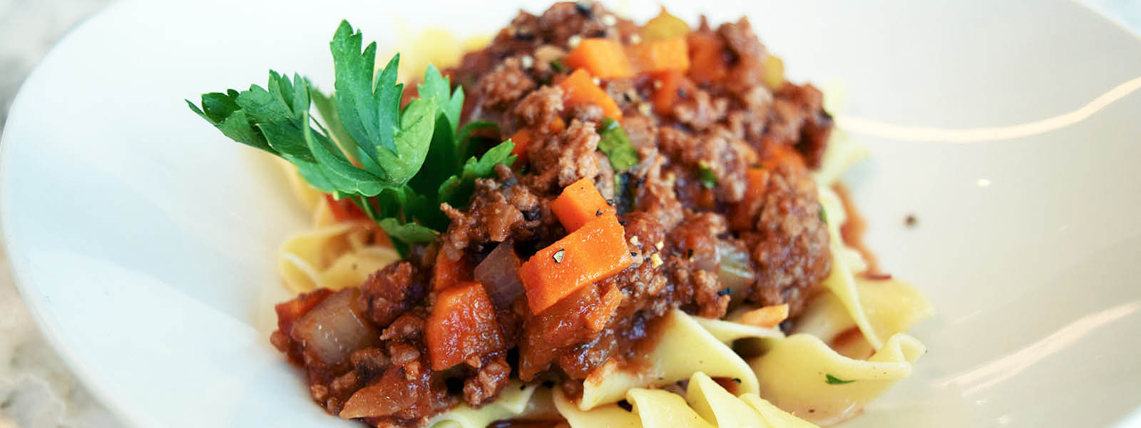Beef Basil Bolognese