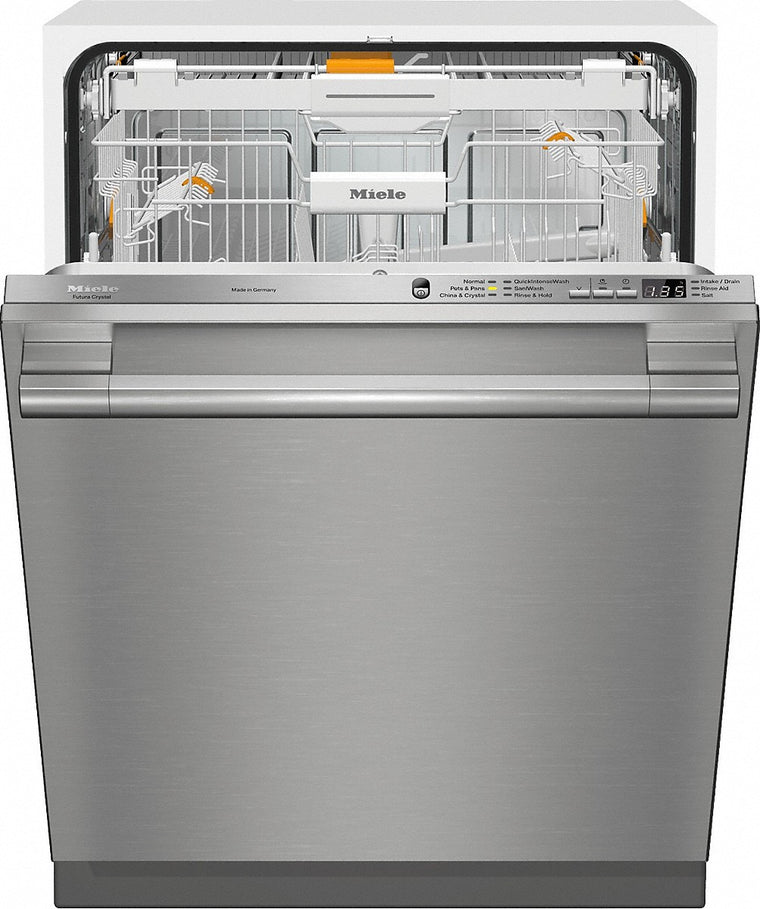 Miele 21666563USA Integrated Dishwasher with CleanTouch Steel