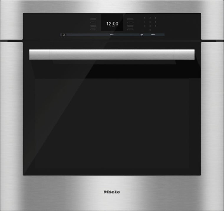 Miele ContourLine SensorTronic Series H6580BP 30 Inch Single Electric Oven