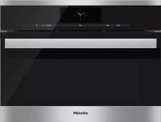 Miele PureLine M-Touch Series DGC68001XL 24 Inch Single Steam Oven
