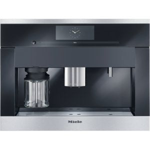 Miele PureLine M-Touch Series CVA6805 24 Inch Whole Bean Built-In Plumbed Coffee System
