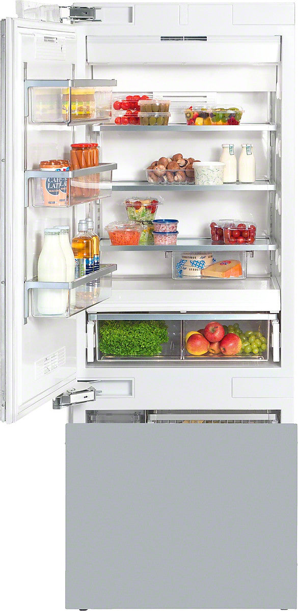"Miele 38181301USA 30"" Refrigerator with Bottom Freezer"