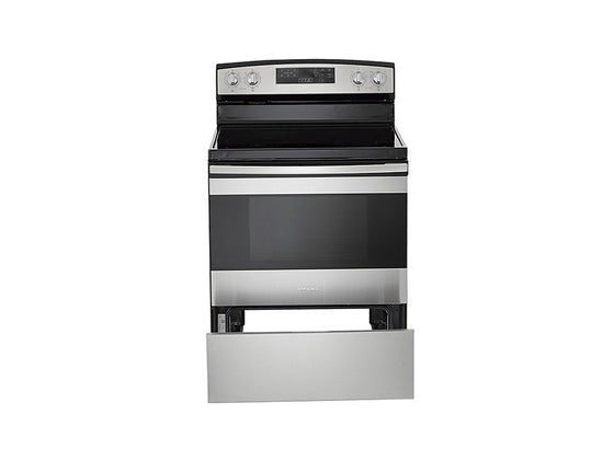 "Amana AER6603SFS 30"" Electric Range With Self-Clean Option"
