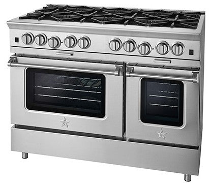 "BlueStar Platinum Series 48"" Freestanding Gas Range BSP488BN"