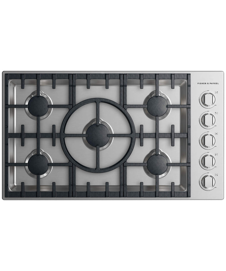 FISHER & PAYKEL CDV2-365H-N_N  Gas Cooktop 36""