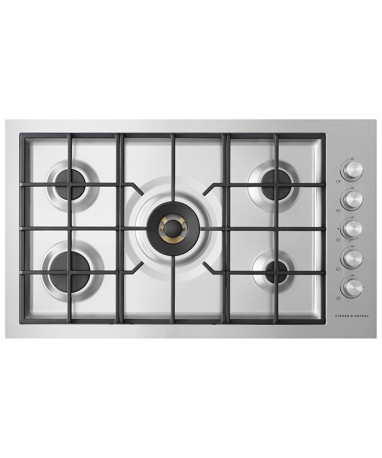 FISHER & PAYKEL CG365DNGRX2_N  Gas on Steel Cooktop 36""