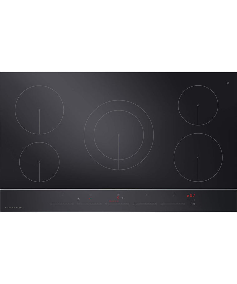 "FISHER & PAYKEL CI365DTB2_N  Induction Cooktop 36"" 5 Zone"