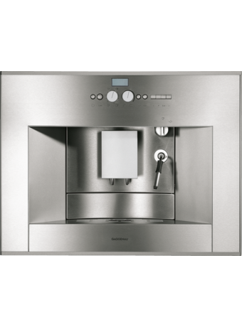 GAGGENAU 24 Inch Fully Automatic Stainless Steel Built-in Coffee Machine