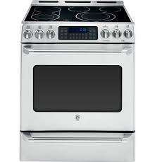 GE Cafe Series CS980STSS 30 Inch Slide-in Electric Range