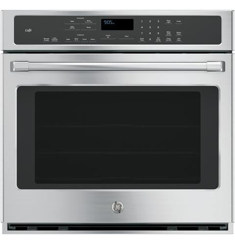 "GE CT9050SHSS Café™ Series 30"" Built-In Single Convection Wall Oven"