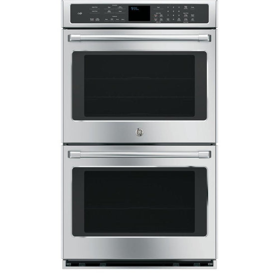 GE Cafe Series CT9550SHSS 30 Inch Double Electric Wall Oven