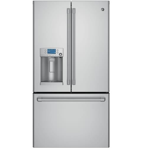 GE CYE22USHSS Café™ Series ENERGY STAR® 22.2 Cu. Ft. Counter-Depth French-Door Refrigerator with Keurig® K-Cup® Brewing System