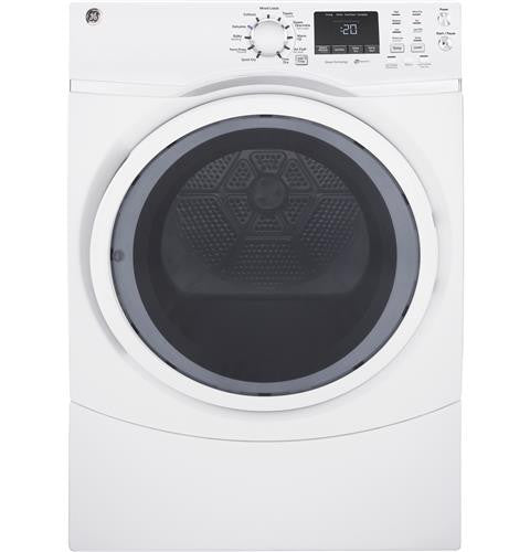 GE GFD45ESSKWW 7.5 cu. ft. capacity Front Load Electric Dryer with Steam