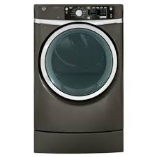 GE RightHeight Design Series GFDR485EFMC 28 Inch 8.3 cu. ft. Electric Dryer