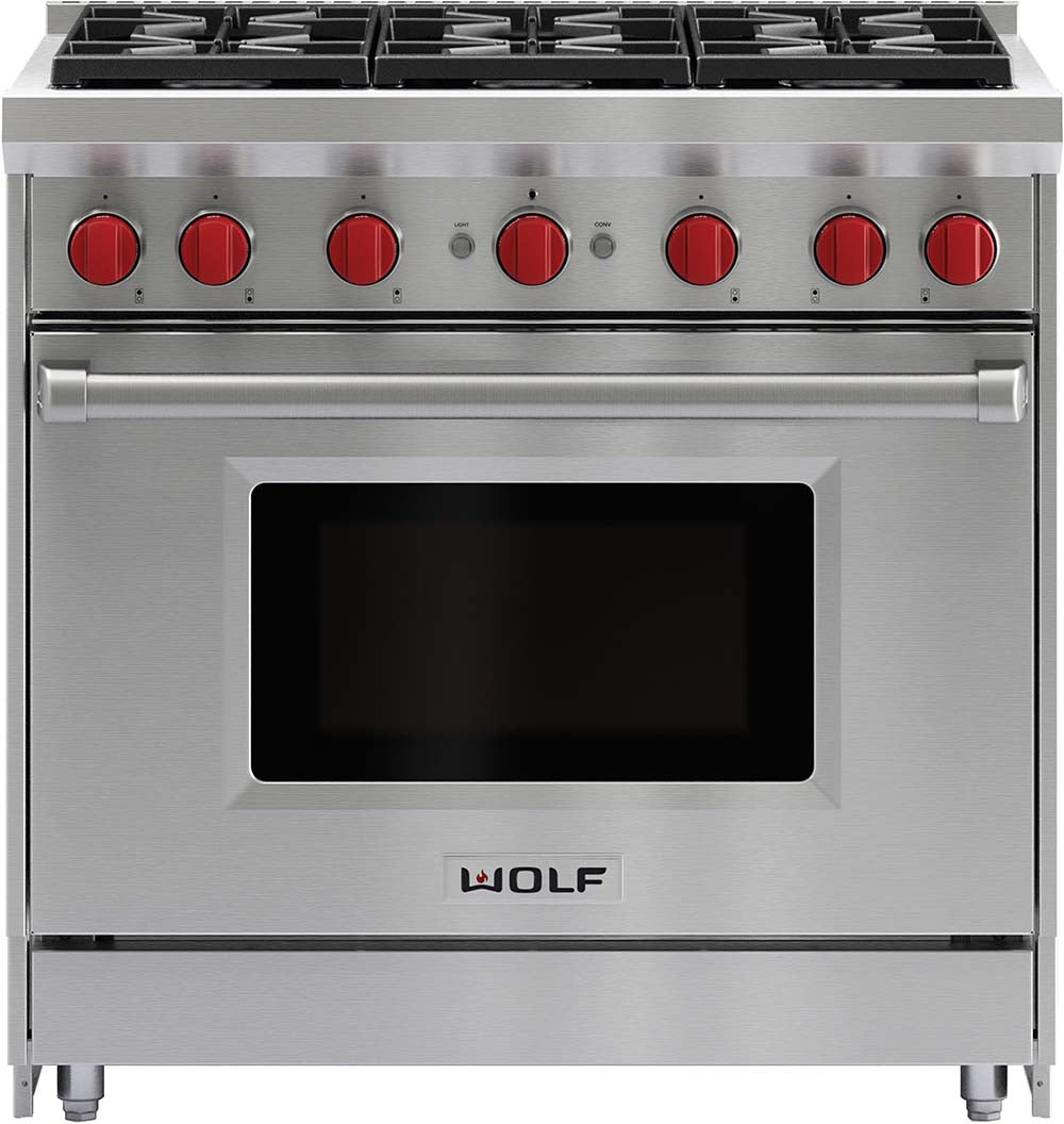 Ordinaire Wolf GR366 36 Inch Pro Style Gas Range