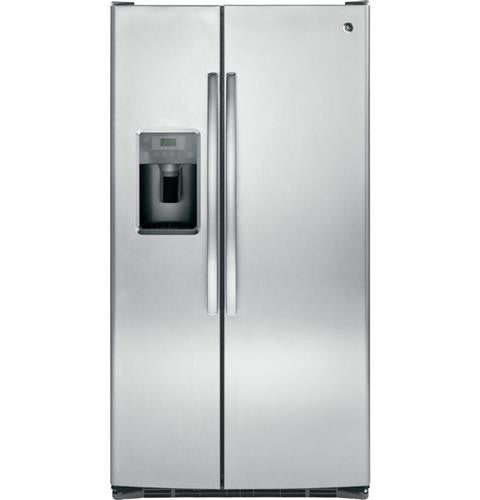 GE GSE25GSHSS ENERGY STAR® 25.3 Cu. Ft. Side-By-Side Refrigerator