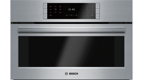 "Bosch HSLP451UC Benchmark 30"" Steam Convection Oven"