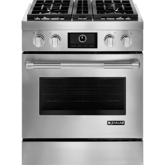 JENN-AIR JDRP430WP Pro-Style® Dual-Fuel Range with MultiMode® Convection, 30""
